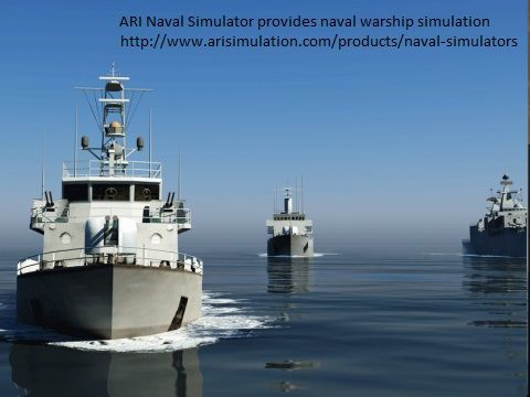 The fifth ARI full mission bridge simulator delivered to the Indian