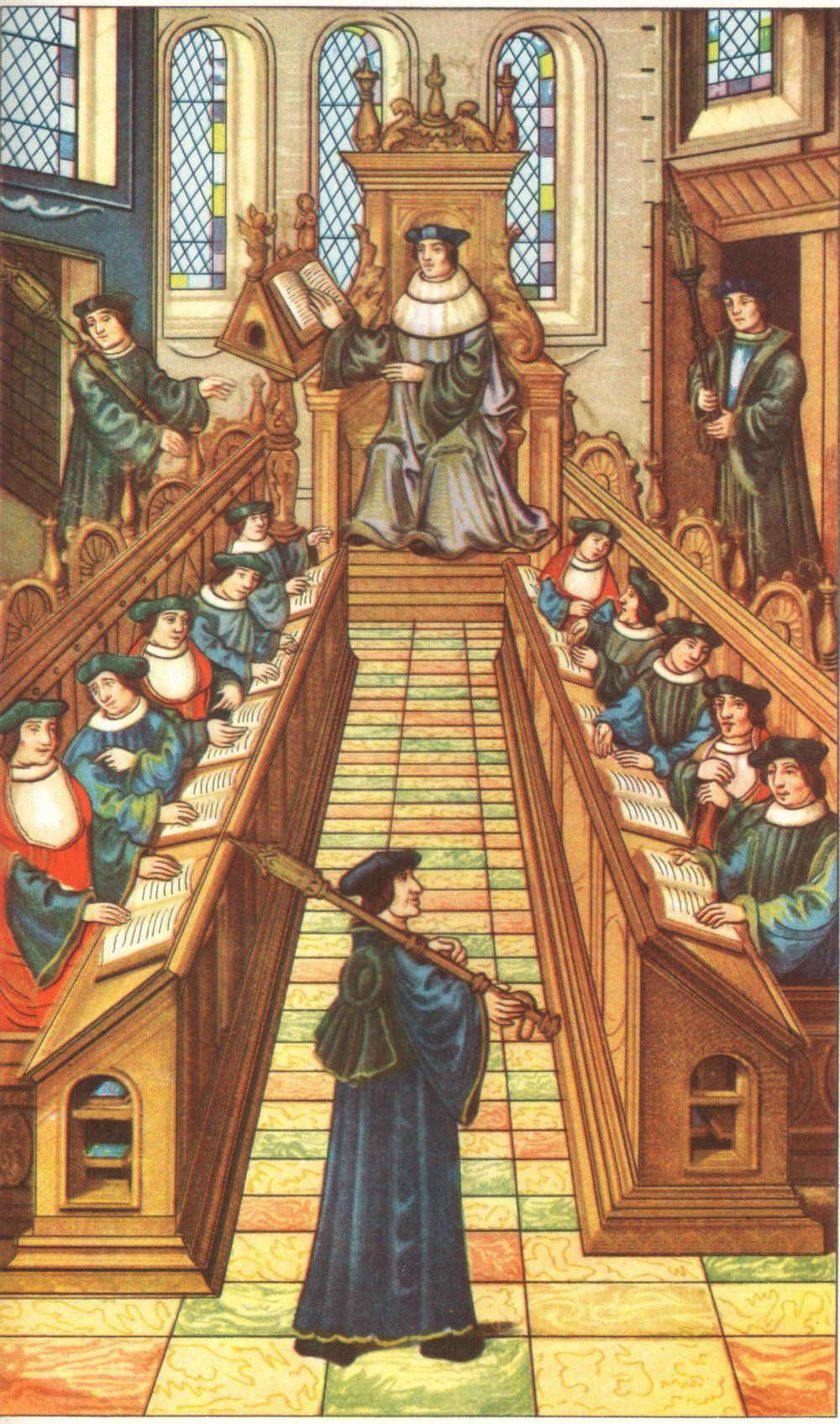 disciplining students in a medieval university - - Yahoo Image Search  Results