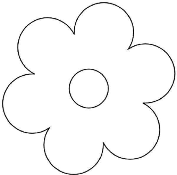 Flower Templates 207 Coloring Page Flowers Coloring Pages Free Floral Templates Schnittmuster Blumen Ausmalbilder Blumen Vorlage Malvorlagen Blumen