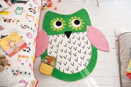 cute owl rug