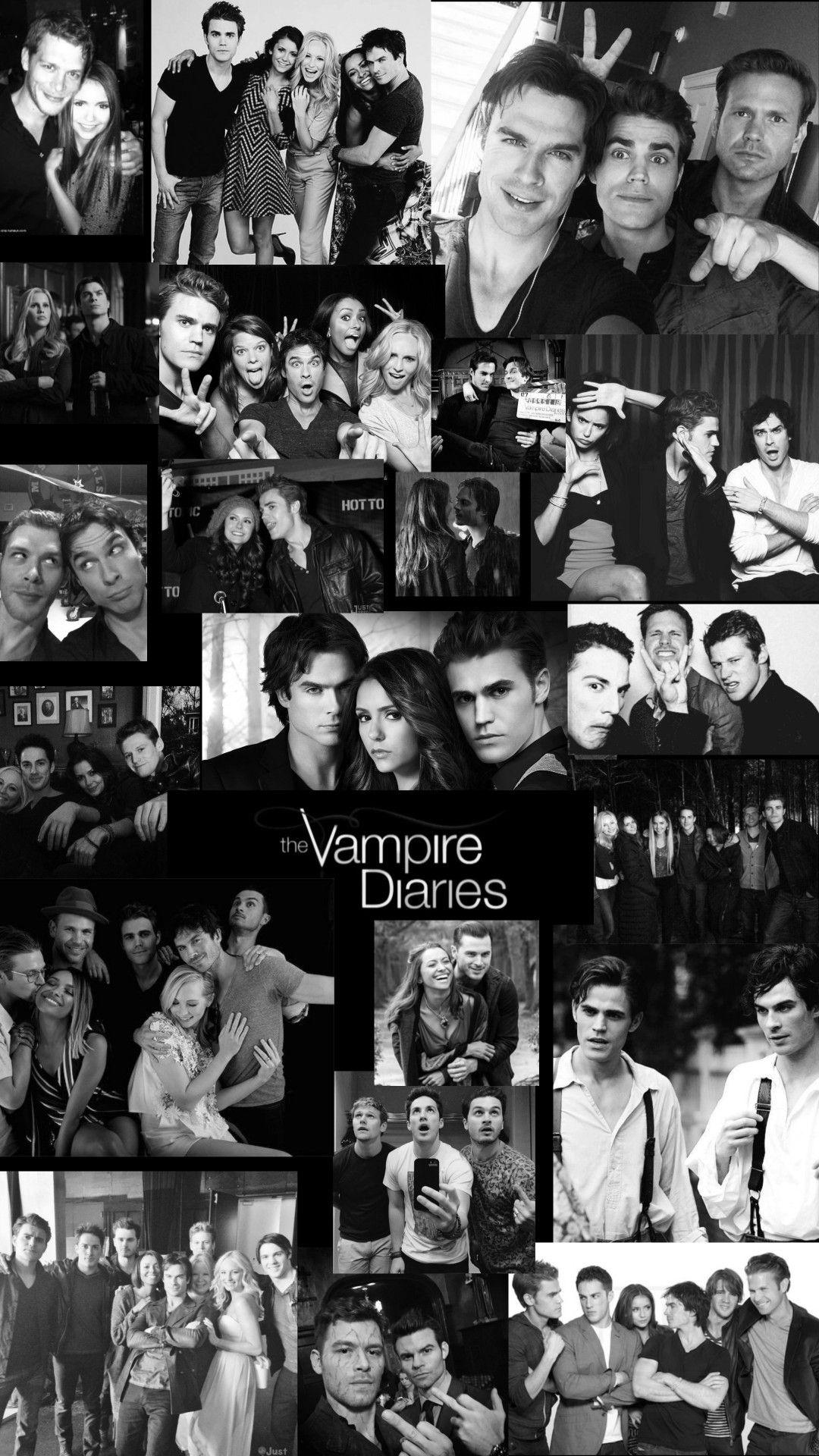 The Vampire Diaries Edit Vampire Diaries Guys Vampire Diaries Poster Vampire Diaries Cast