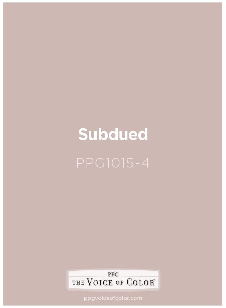 subdued ppg1015 4 voice of color ppg pittsburgh paints and ppg porter paints paint color inspiration glam paint color porter paint ppg porter paints paint color