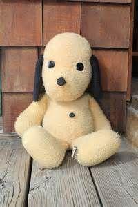 Vintage Stuffed Henry Dog 1971