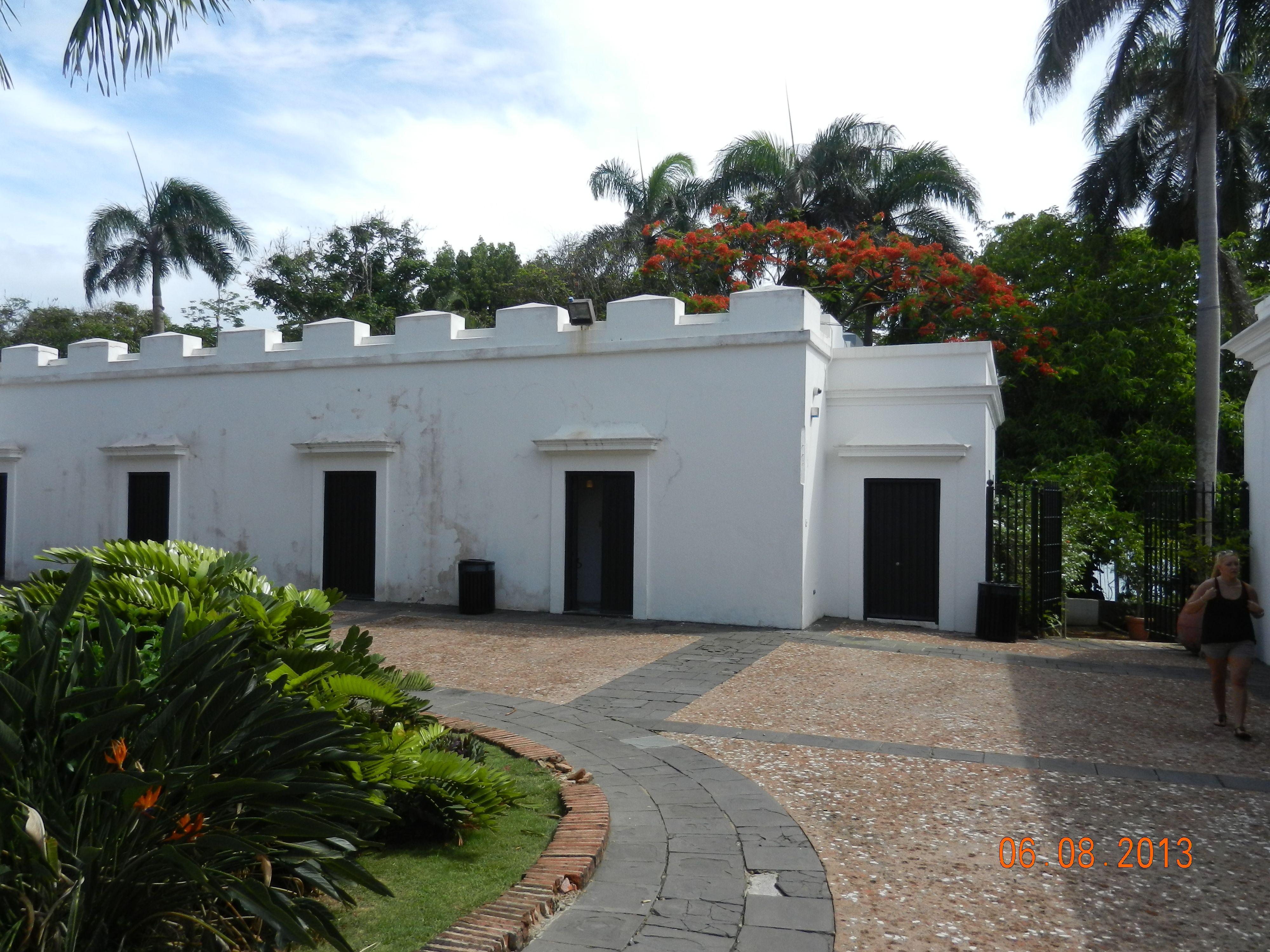 Entrada a la casa de Juan Ponce de Leon