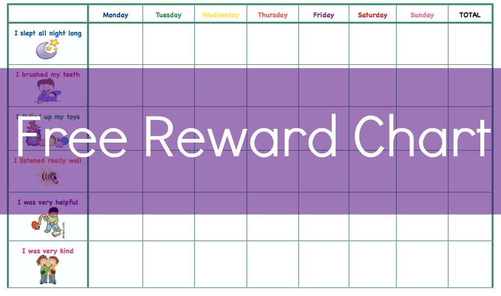 17 Best images about Reward charts – Free Reward Chart Templates