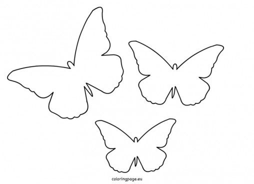butterfly-cut-out-template Baby Shower Ideas Pinterest - butterfly template