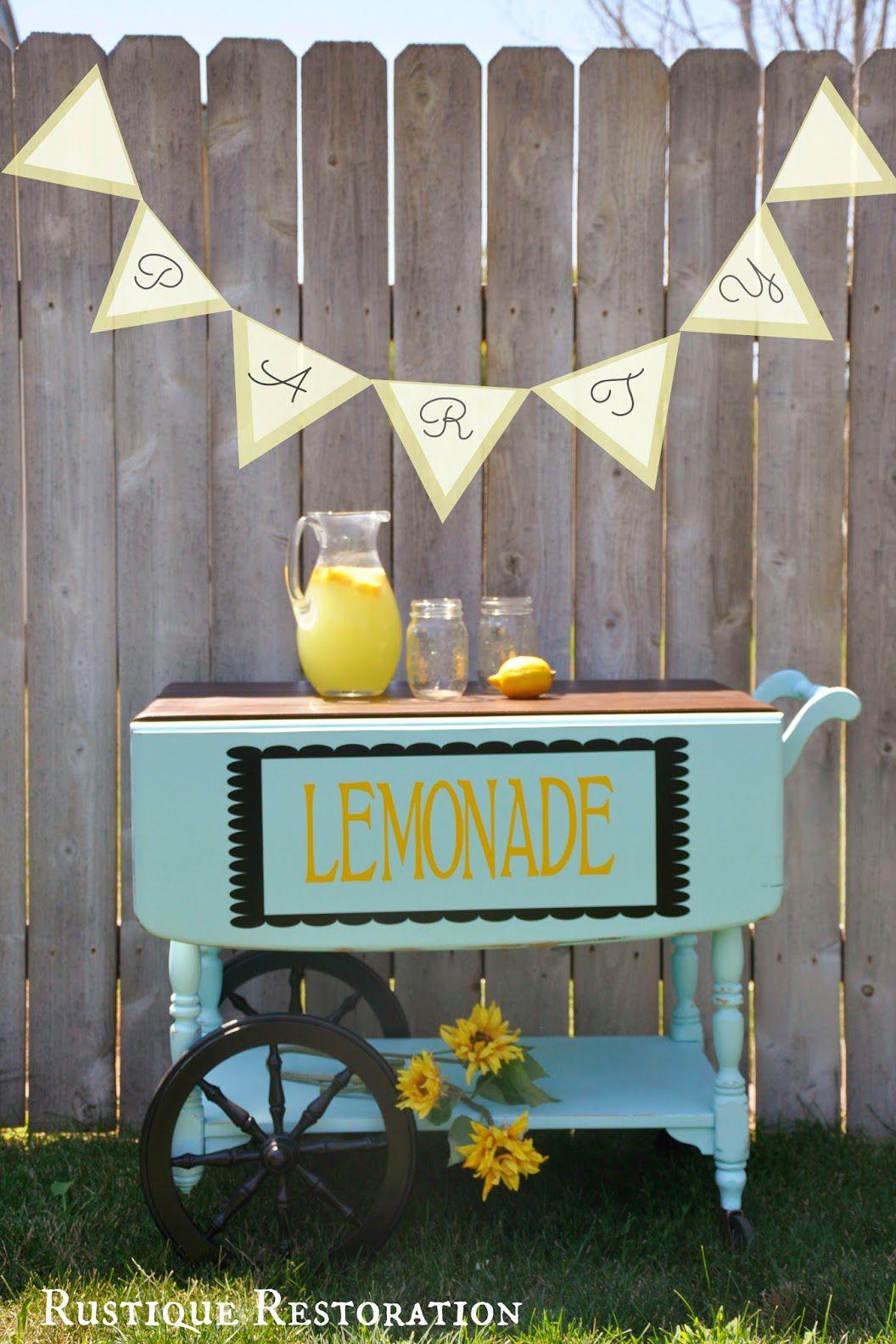 25 totally transformative flea market flip ideas lemonade tea