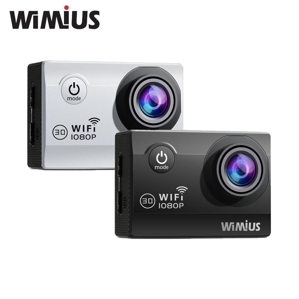 Wimius Wifi Hd Wearable Camera Wide Angle Lens Go Waterproof Pro Spare Battery Outdoor Sports Cam