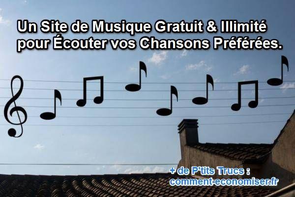 Un Site de Musique Gratuit  Illimité pour Écouter vos Chansons - logiciel d gratuit maison