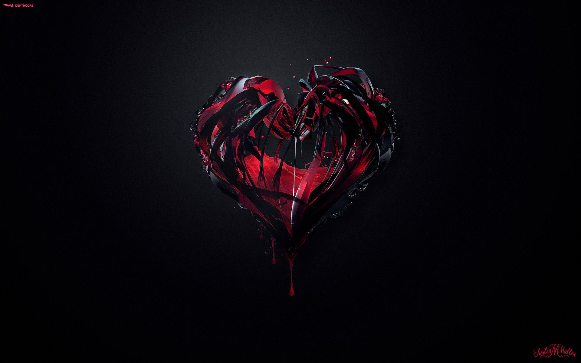 Pump By Ekud Deviantart Com Broken Heart Wallpaper Heart Wallpaper Android Wallpaper Black