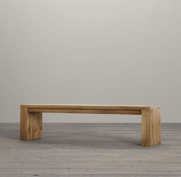 Banco madera maciza | Muebles de Troncos | Pinterest | Madera maciza ...