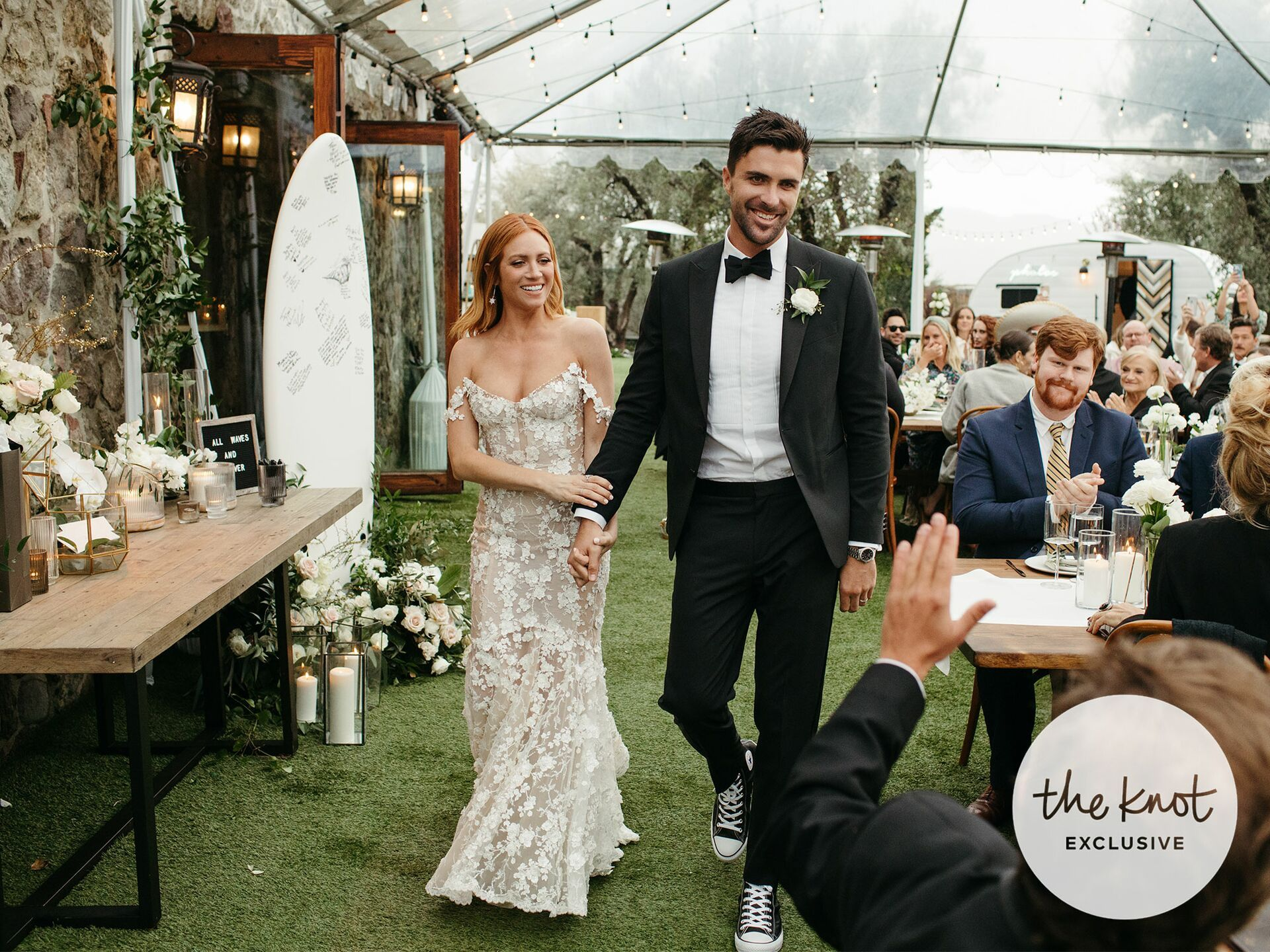 Exclusive See Brittany Snow And Tyler Stanaland S Wedding Photos Snow Wedding Dress Wedding Dresses Wedding Dress Inspiration