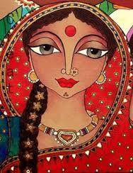 Resultado de imagen para pintura contemporanea de la india