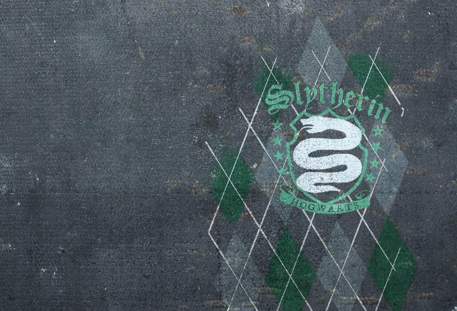 Slytherin Wallpaper slytherin argyle wallpaper slytherin pinterest ...