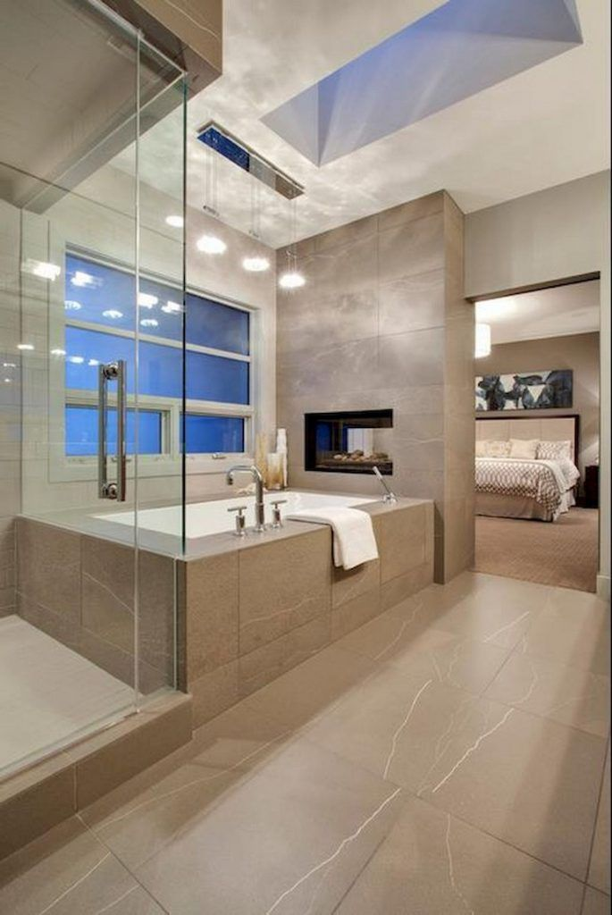 59 Marvelous Open Bathroom Concept For Master Bedrooms Decor Ideas Page 34 Of 56 Bathroom Interior Design Master Bathroom Design Modern Bathroom Design