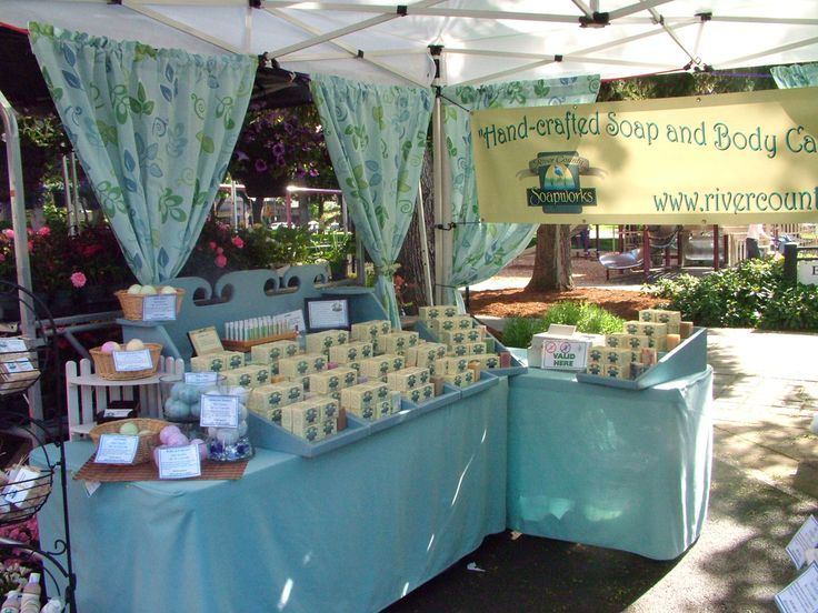 Homemade skin care products display ideas craft shows for Free craft show listings