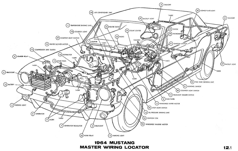 Sm1964a 1965 Mustang Used Car Parts Car Body Parts Car Parts