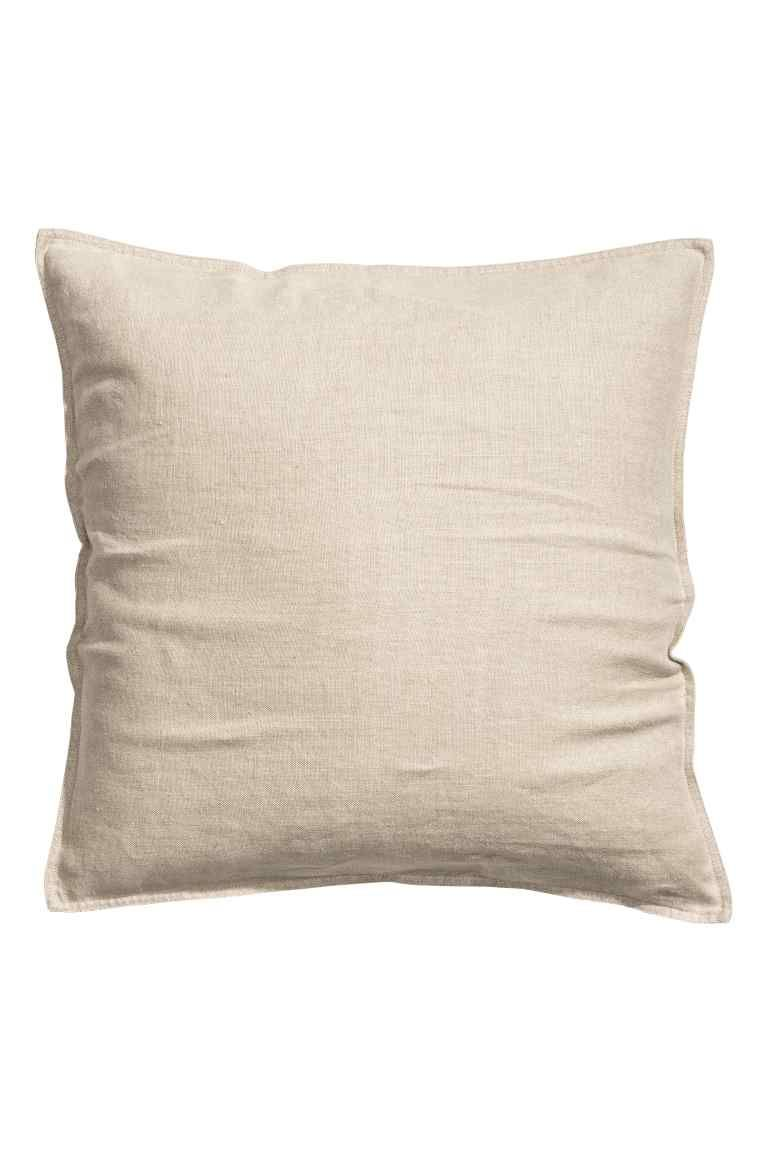 Fodera cuscino in lino | H&M 10€