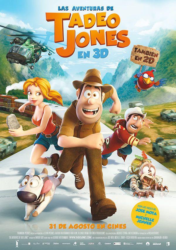 Póster De Las Aventuras De Tadeo Jones Películas De Aventuras Peliculas Online Gratis Películas De Animación