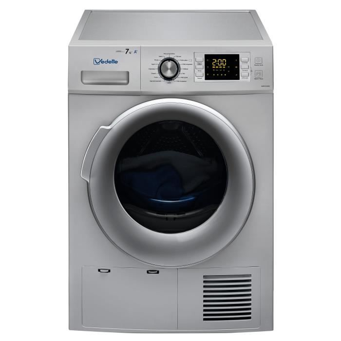 7 kg - Pompe à chaleur - Classe A++ - Silver MA MAISON Pinterest - pompe a chaleur pour maison