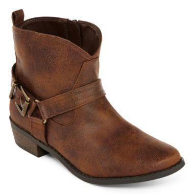 4cf458b8c392 Arizona Barbaralynn Girls Ankle Boots - Little Kids Big Kids found at   JCPenney
