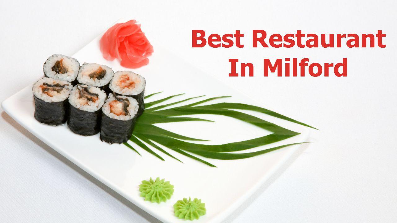 Sushi Restaurants in Milford Ma