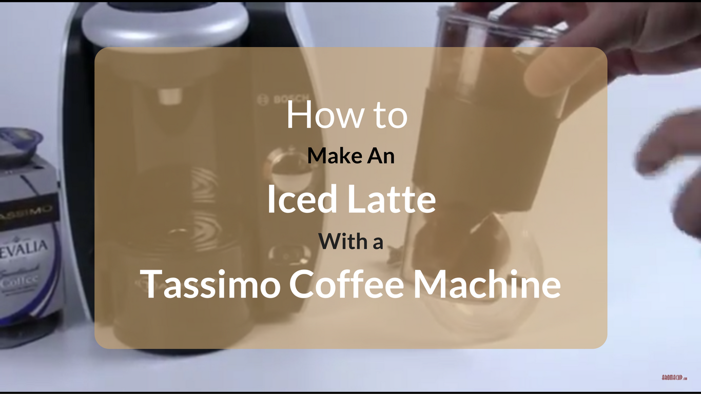 How to make an iced latte at home without an espresso machine