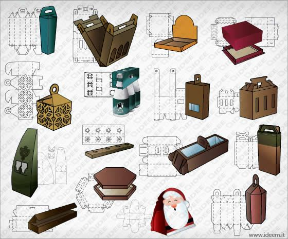 600+ inspiring and creative packaging vector templates ... Unique Package Design Templates