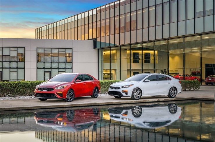 All New 2019 Forte Makes World Debut At North American International Auto Show Kia Motors Honda Civic First Drive