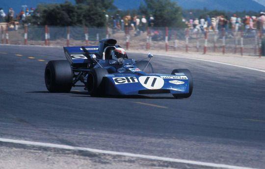 Jackie Stewart, TyrrellFord 003, 1971 French GP, Le