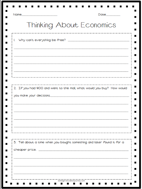 Economics Pretest-Activate what your students already know about ...
