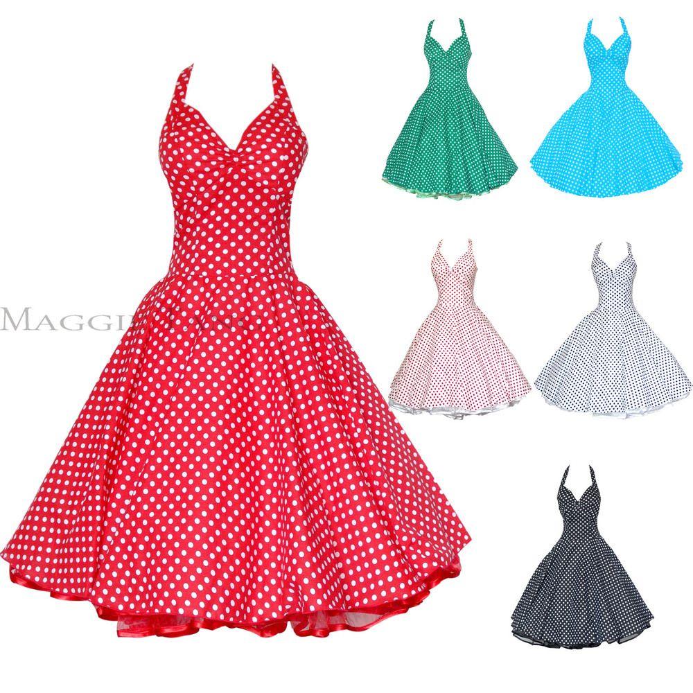 Vestidos De Los Años 60 Vestido De 50 Años Tienda De 50
