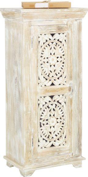 Diese Hübsche Kommode Ist Ein Individueller Blickfang Mit Charme Für Ihr  Zuhause. Dekorative Schnitzereien Im