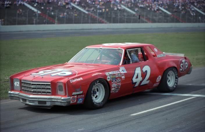 Kyle Petty 1976 Chevrolet Monte Carlo Nascar Race Cars Nascar