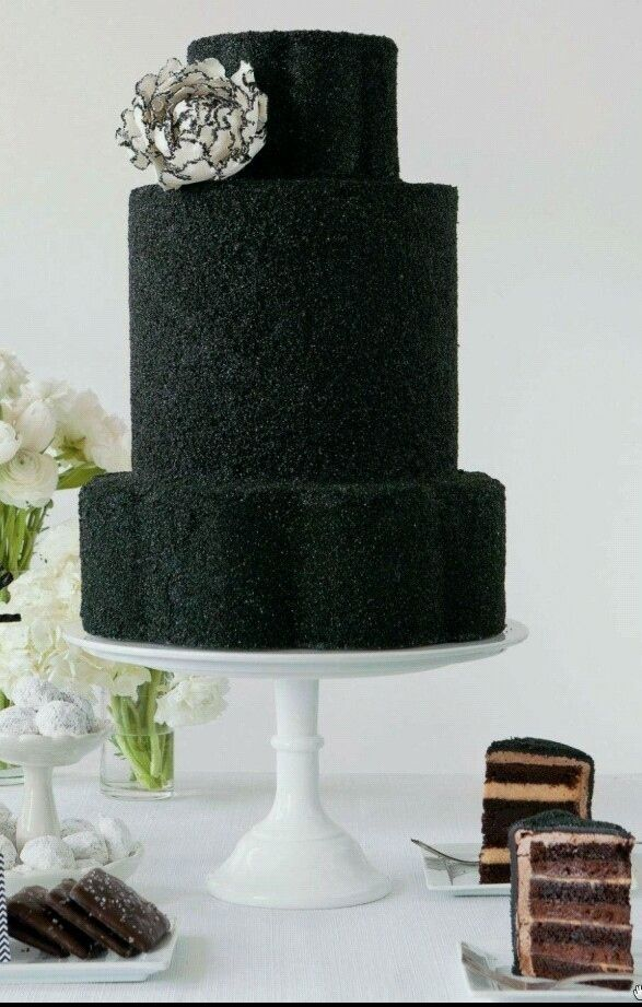 59 Reasons Black Is The Chicest Wedding Color Via BuzzFeed