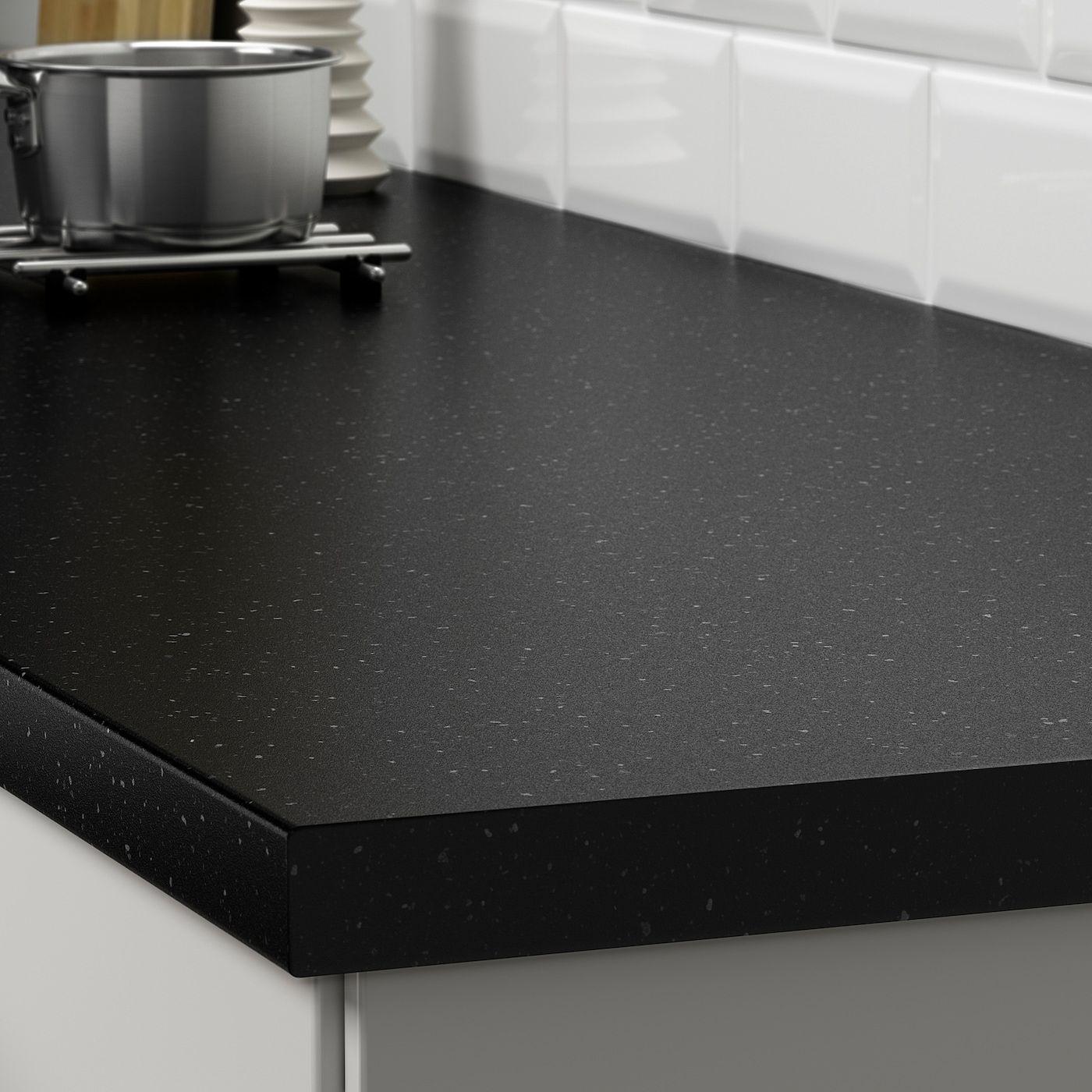 SÄljan Countertop Black Mineral Effect Laminate Ikea Canada Ikea Arbeitsplatte Schwarz Arbeitsplatte Laminat