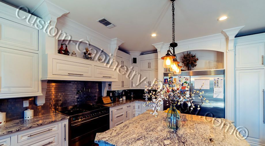 Frameless Transitional Custom Kitchen Cabinets Sacramento