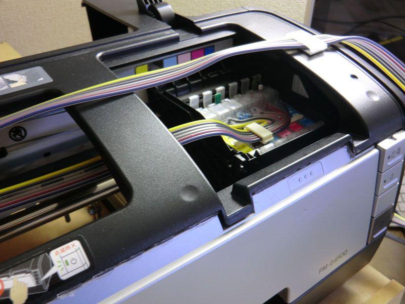 Homemade DIY DTG Printer A3 EPSON Overview ALIENBUNKER