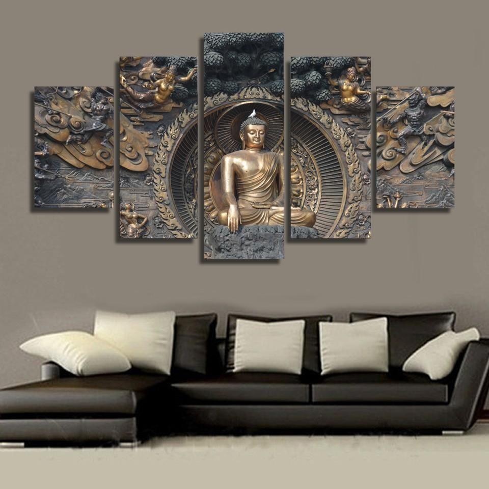 Gautama buddha in 2019 walls buddha wall art buddha decor