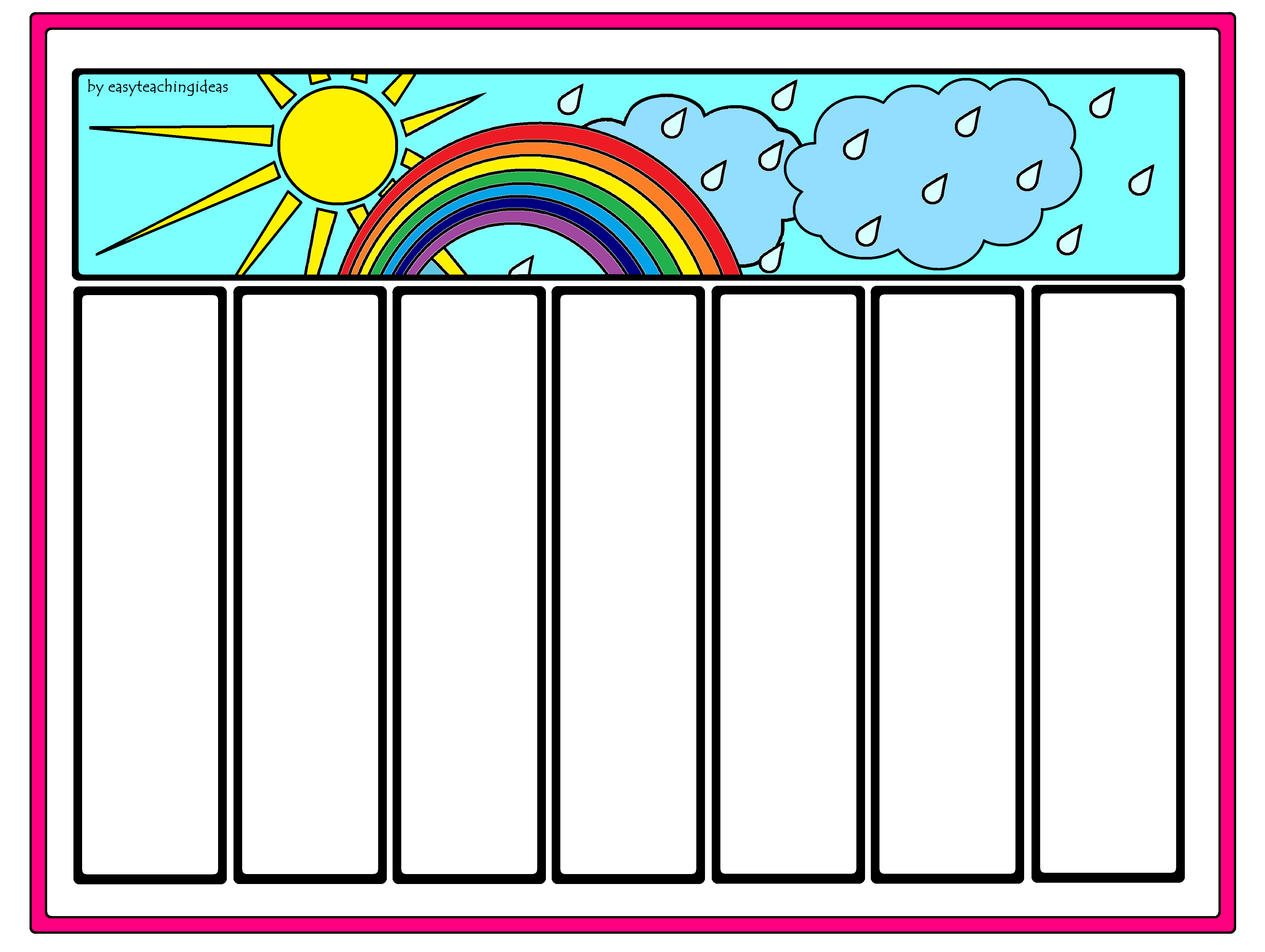 Rainbow Worksheets