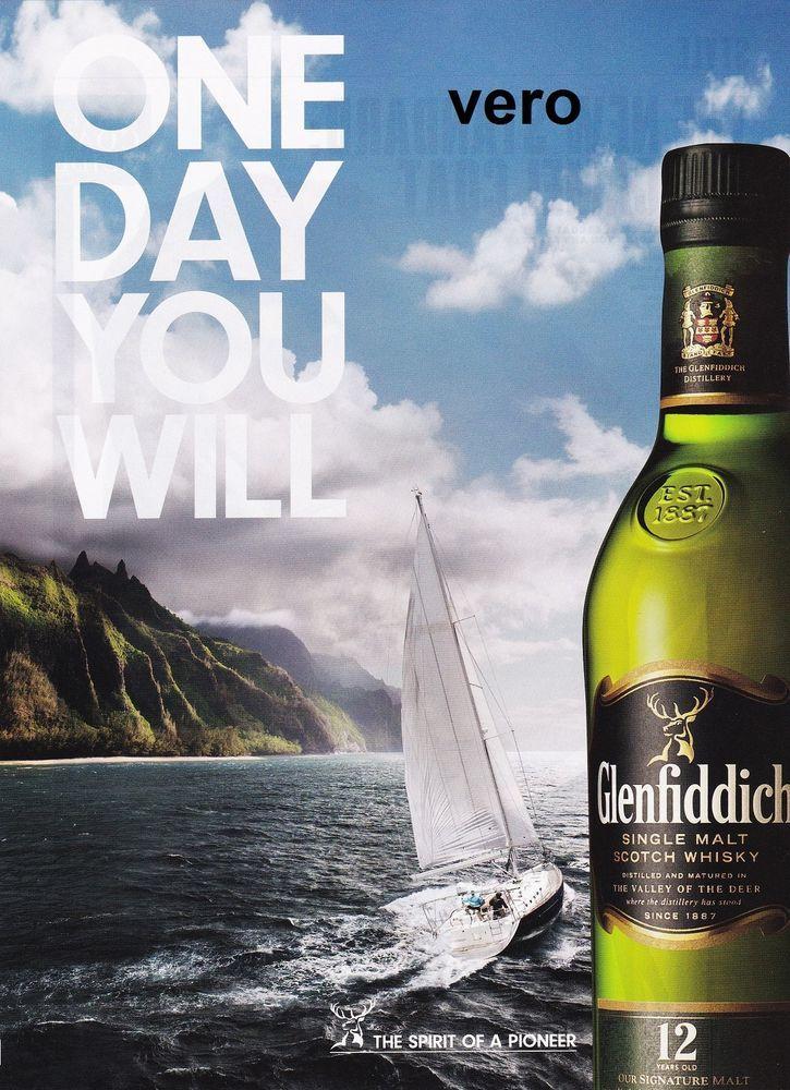 2010 Magazine Ad Glenfiddich Scotch Whisky Alcohol