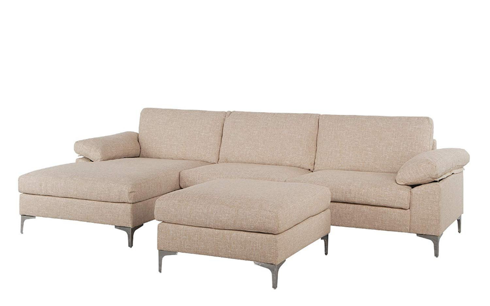 Home Couch With Chaise Sectional Sofa Large Sectional Sofa
