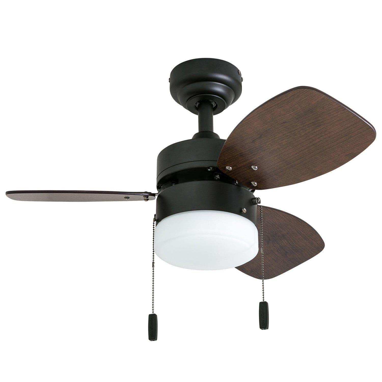 Honeywell Ocean Breeze 30 Bronze Small Led Ceiling Fan With Light
