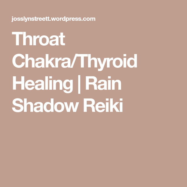 Reiki For Thyroid