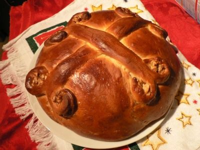 A greek bread for the holidays called christopsomos bread recipes a greek bread for the holidays called christopsomos bread forumfinder Gallery