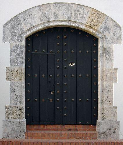 Door 3b Colonial District Santo Domingo Dominican Republic Doors Colonial Santo Domingo