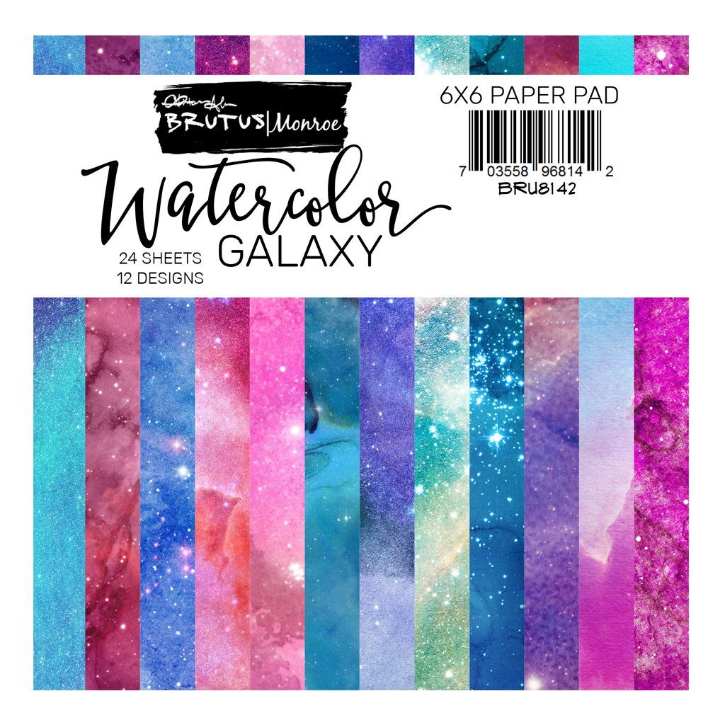 Watercolor Galaxy Paper Pad Watercolor Galaxy Paper