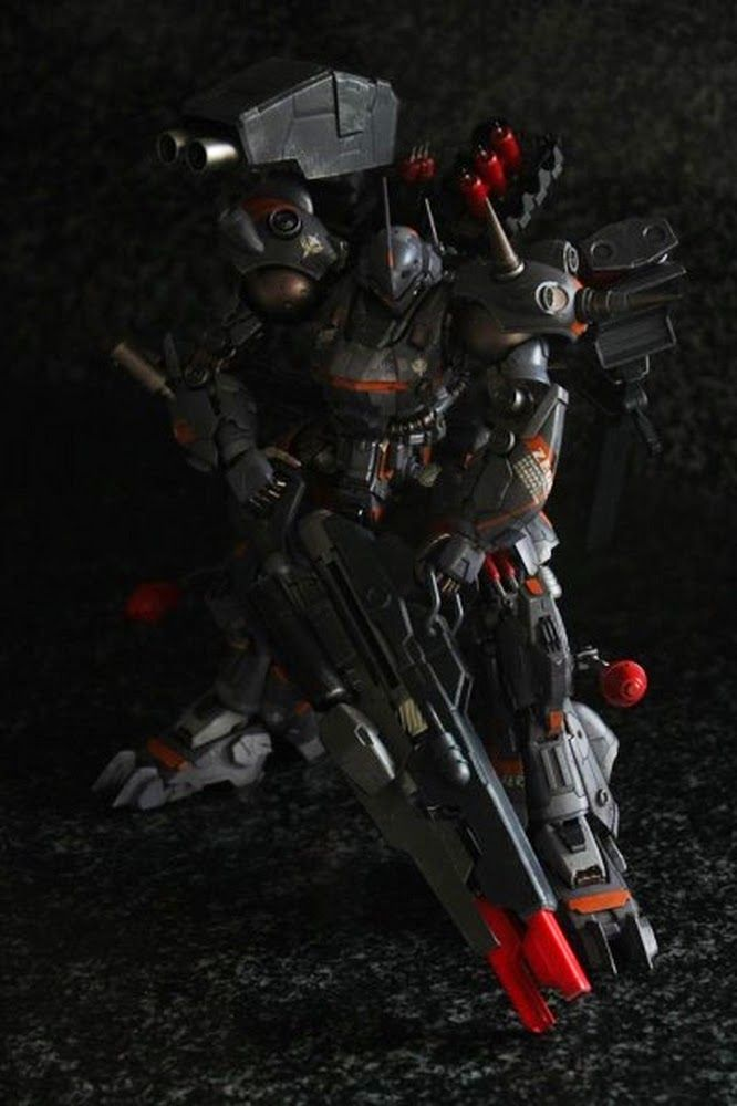 "Custom Build: Gogo 1/100 Kampfer ""Nemesis Raider ver. Ace"" - Gundam Kits Collection News and Reviews"
