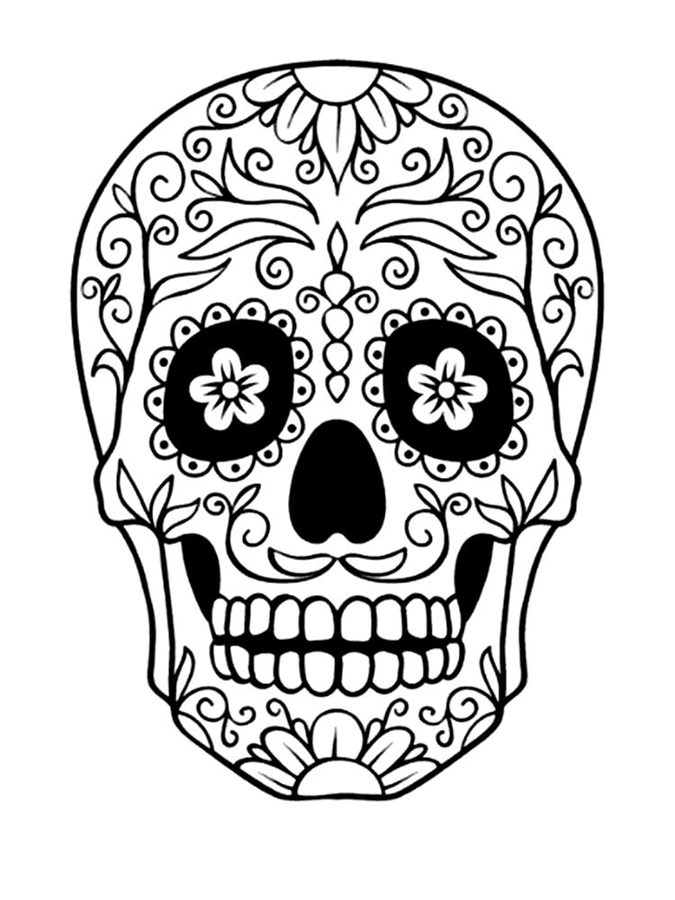 Sugar Skull   Halloween   Pinterest   Sugar skulls, Cricut and ...