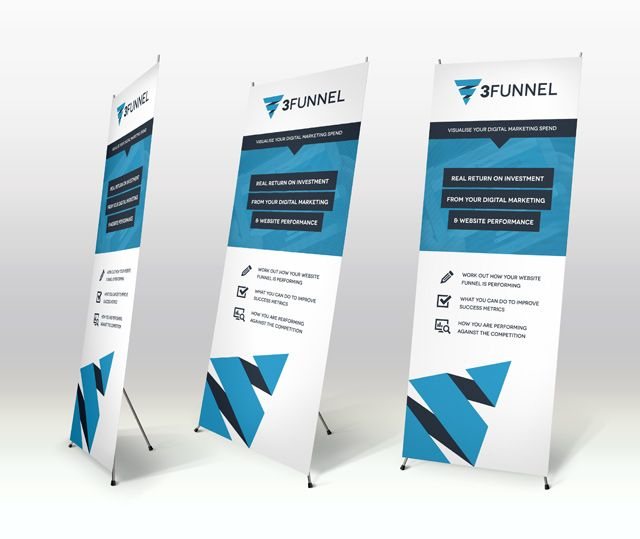 pull up banner design - Google Search | Design: Trade Show ...
